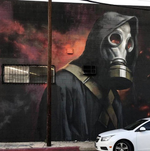 Street Art Inspired By Coronavirus (34 pics)