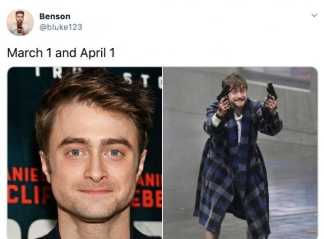 March Vs April Memes (25 pics)