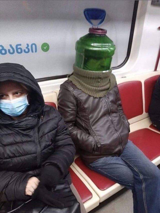 Weird Coronavirus Protection (50 pics)