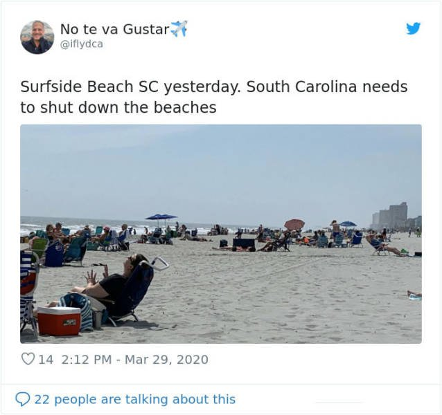 South Carolina Hasn't Heard About Social Distancing (31 pics)
