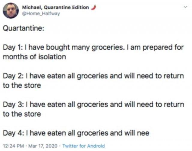Eating Habits During Quarantine (21 pics)