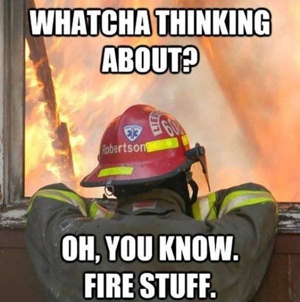 Firefighter Memes (39 pics)