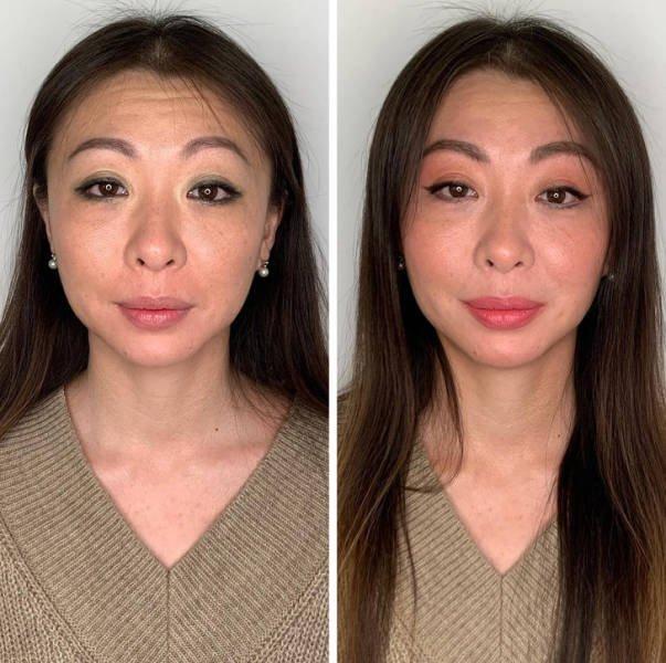 Amateur Vs Professional Makeup (16 pics)