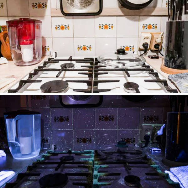 Everything Changes Under Ultraviolet Light (17 pics)