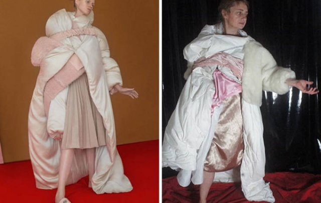 Quarantine High Fashion (31 pics)