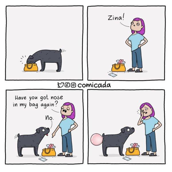 Funny Comics By Comicada (20 pics)