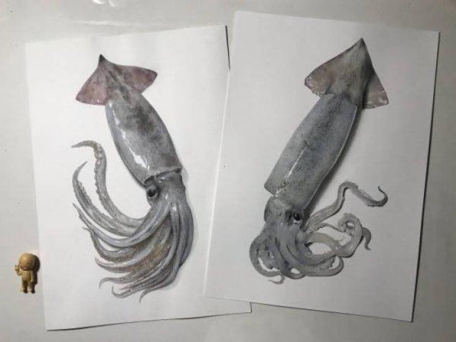 Hyper-Realistic Drawing By Yuuki Tokuda (10 pics)