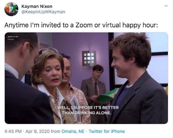 Happy Hour On Zoom (27 pics)