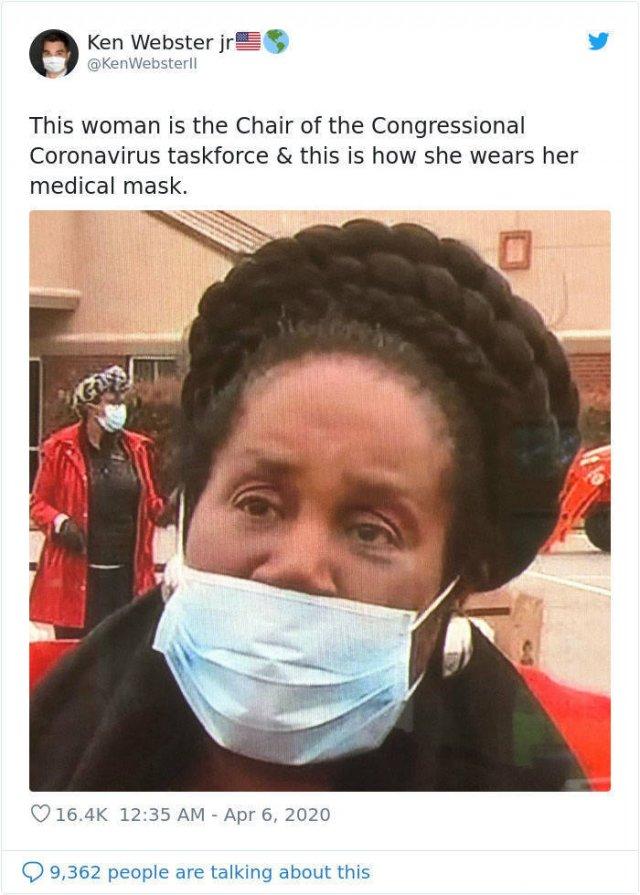 Coronavirus Prevention. You're Doing It Wrong (35 pics)