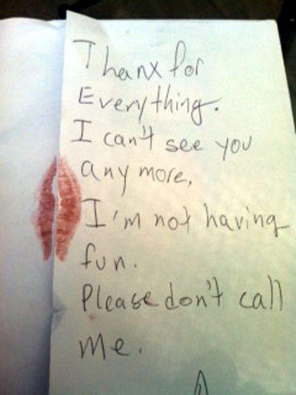 breakup kids letters 28 pics