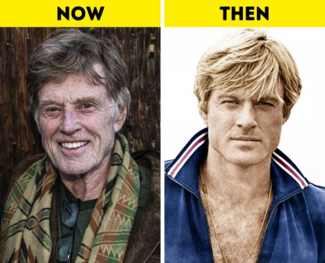Actors Who Are Over 60: Then And Now (19 pics)