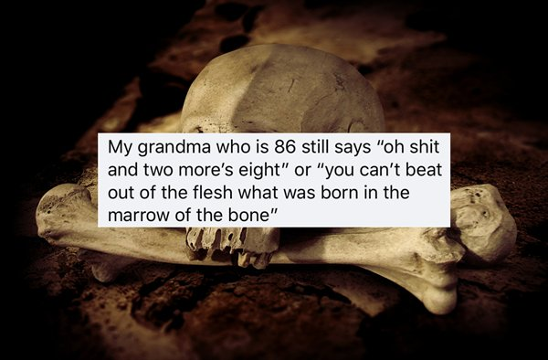 Old-Fashioned Expressions (24 pics)