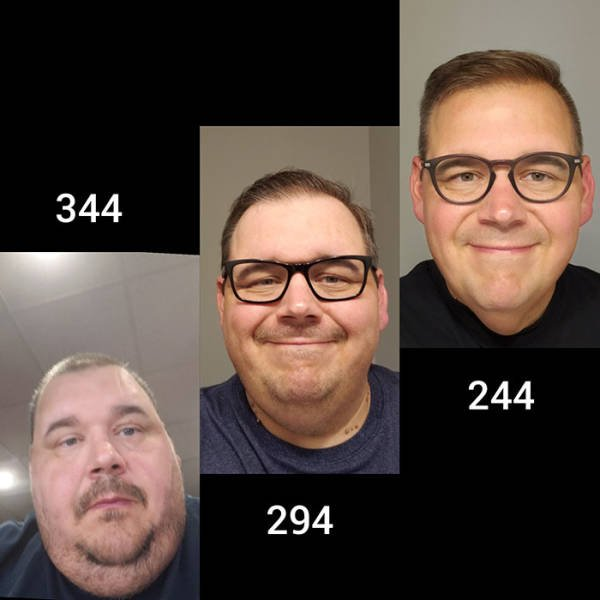 People Share Their Weight Loss Pictures (15 pics)