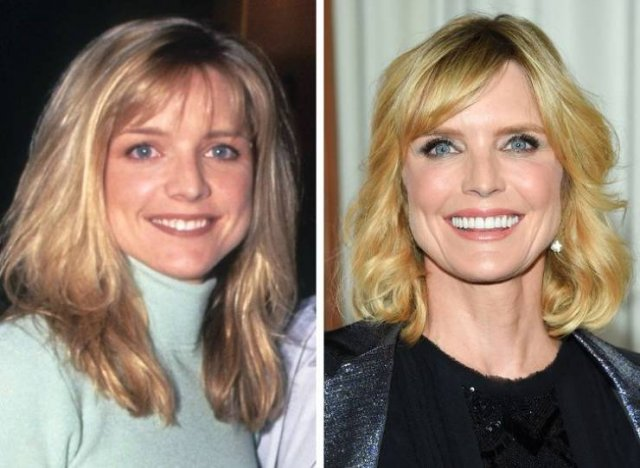 """""""Melrose Place"""" Cast: Then And Now (15 pics)"""
