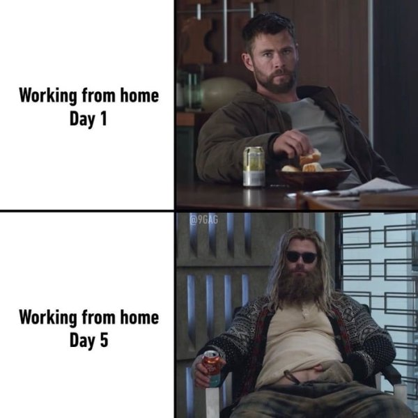 Working From Home Memes (32 pics)