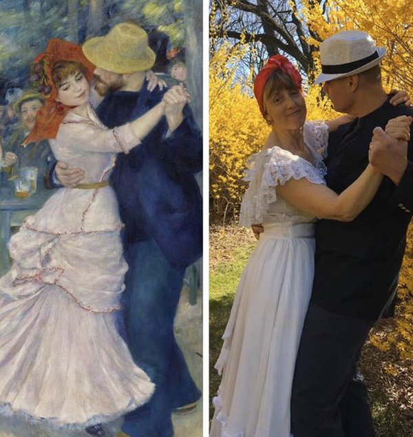 Great Art Recreation (29 pics)