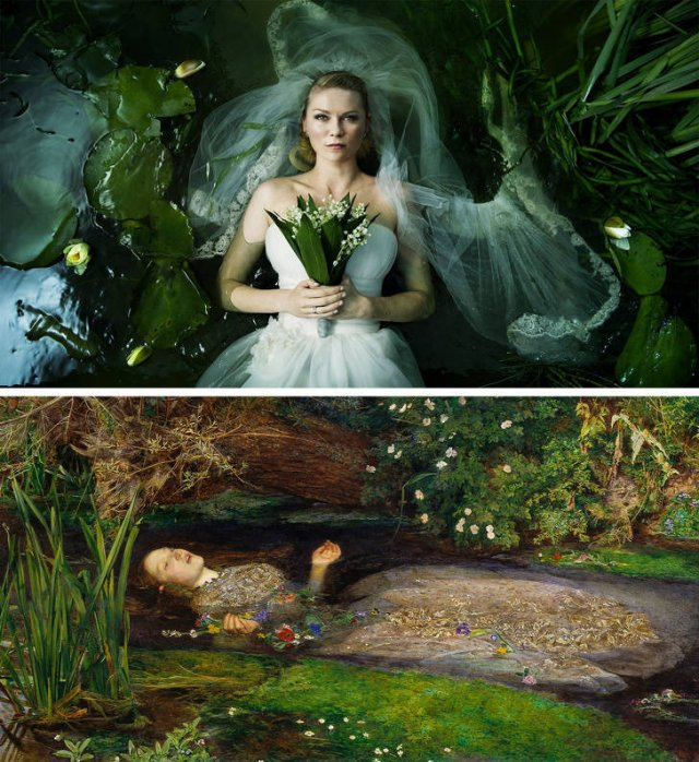 Movie Scenes Inspired By Art (13 pics)