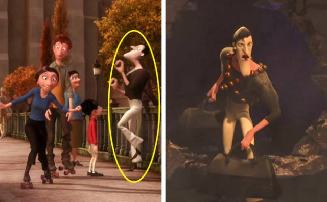 Easter Eggs In Animated Movies (20 pics)