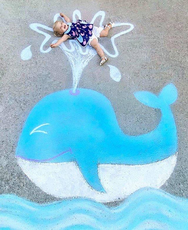 Quarantine Chalk Art By Abbey Burns Tucker (30 pics)