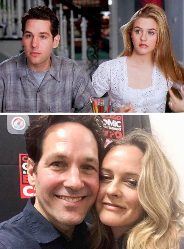 Movie Couples: Then And Now (15 pics)