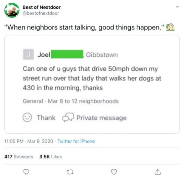 #BestOfNextdoor Tweets (21 pics)
