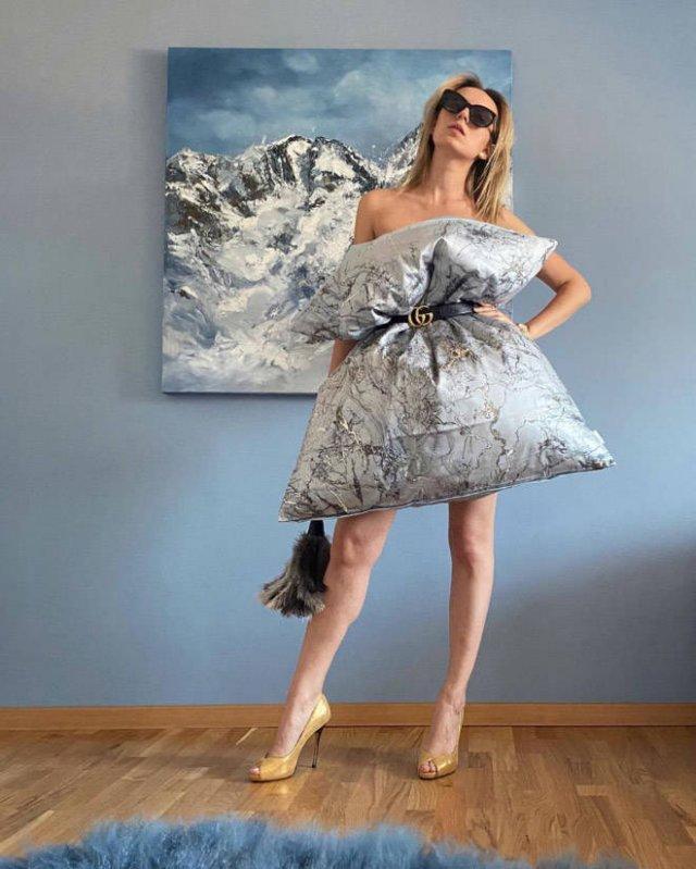 Pillow Dress Challenge (22 pics)