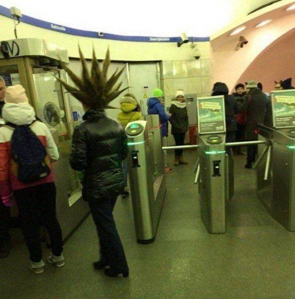 Unusual Subway Passengers (33 pics)