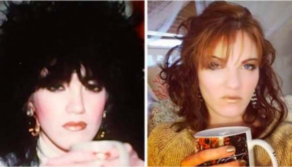 Women Recreating Their Mothers Old Photos (33 pics)