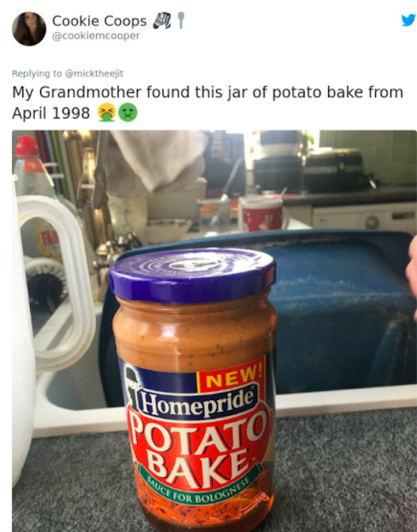 People Share Photos Of Expired Food Found In Their Houses (25 pics)