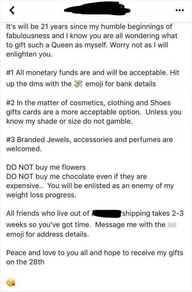 Choosing Beggars (29 pics)
