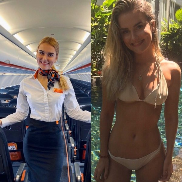 Hot Flight Attendants (44 pics)