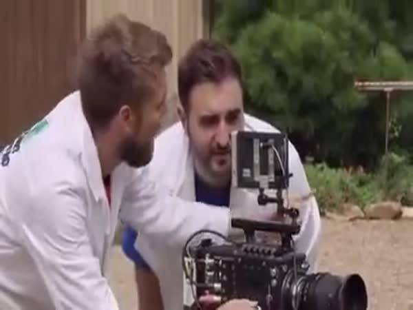 Slow-Motion Video Captures Eagle Mid-Blink