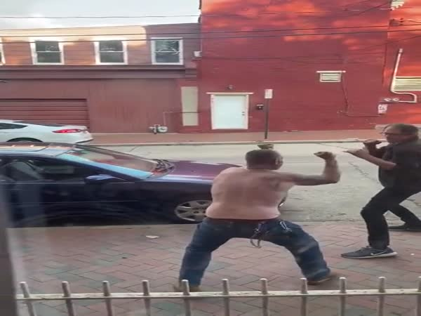 Street Fighters In Action