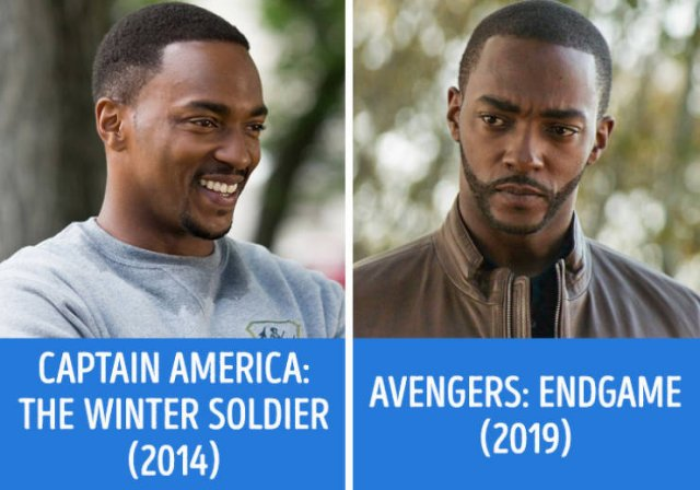 """""""Avengers"""" In Their First And Last Movies (21 pics)"""