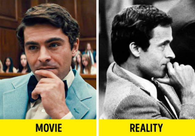 True Stories Behind Fictional Movies (15 pics)