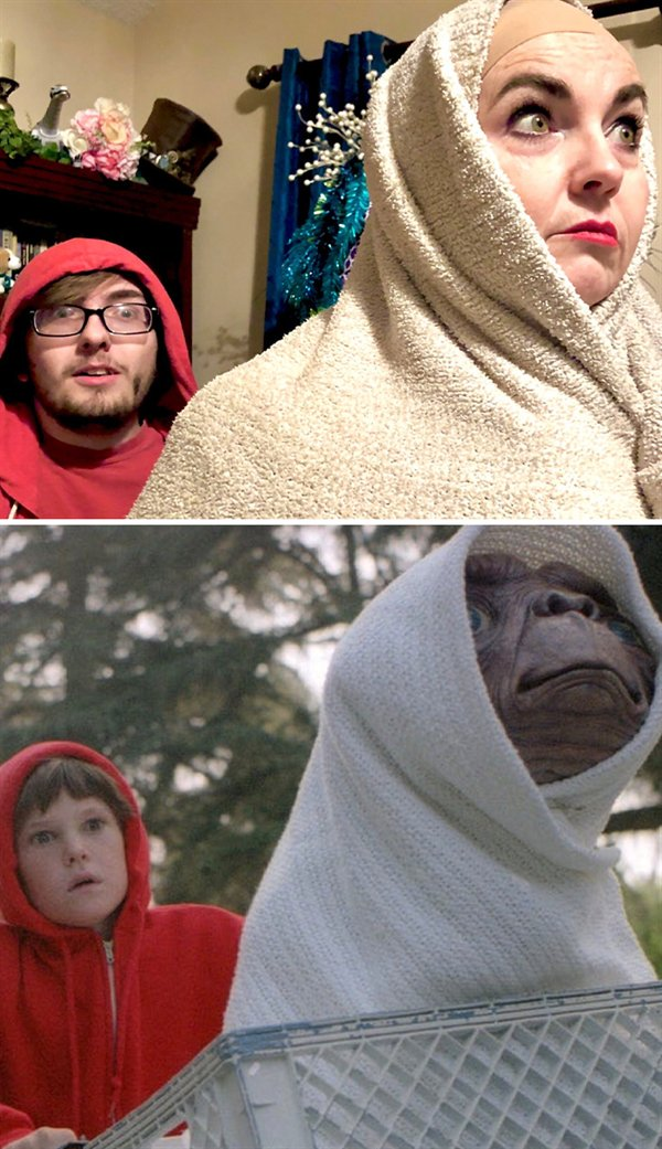 Quarantine Cosplay (30 pics)