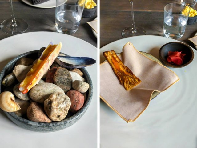 Meals From Expensive Restaurants (35 pics)