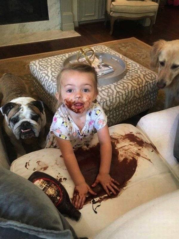 Living With Children (51 pics)