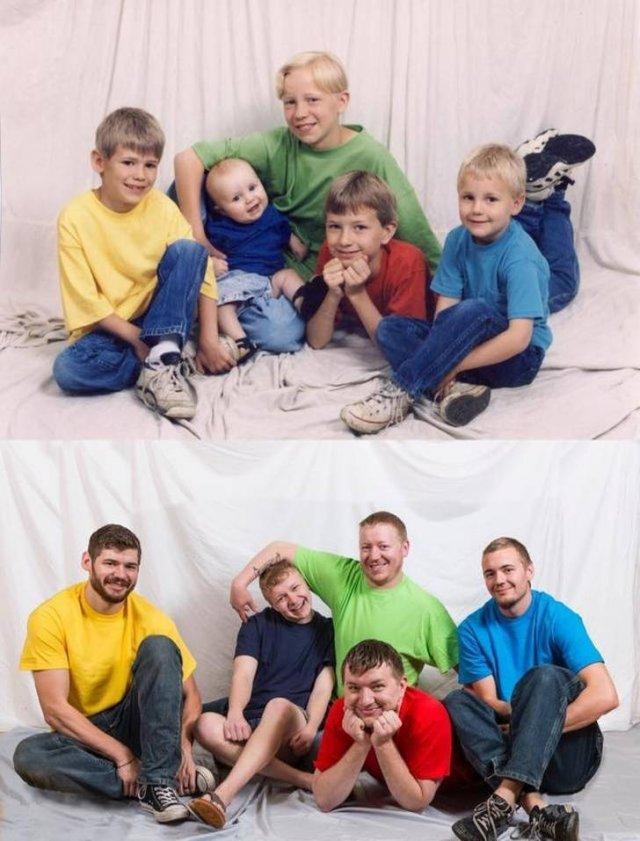 Childhood Photo Recreations (20 pics)