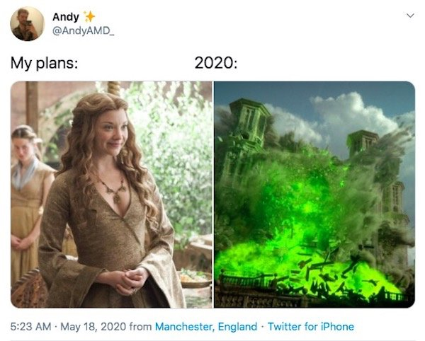 My Plans Vs. 2020 Memes (32 pics)