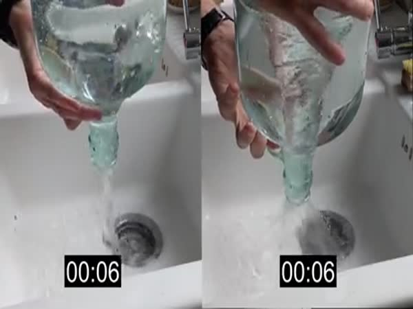 Spinning The Water Before You Pour It