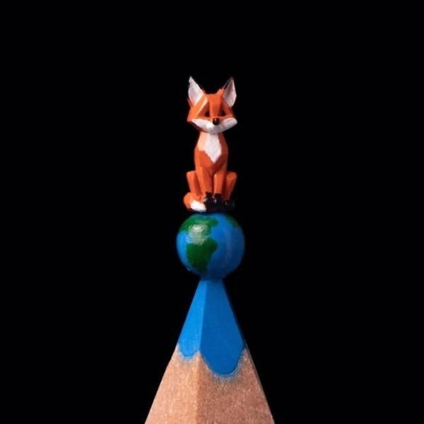 Pencil Tip Sculptures (35 pics)