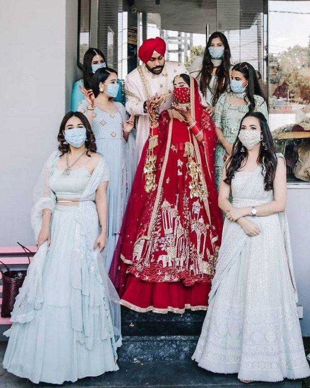 Weddings During Quarantine (29 pics)