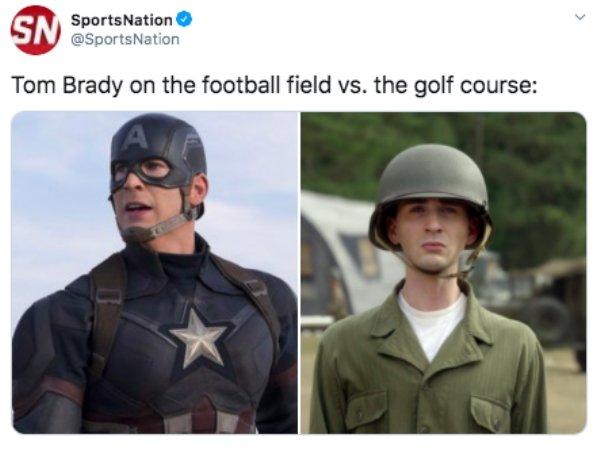 Tom Brady Golf Memes (21 pics)