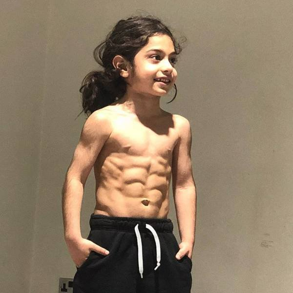 Strong 6-Year-Old Iranian Boy (11 pics)