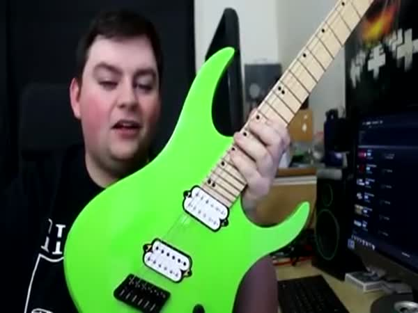 Why You Should Always Buy A Green Guitar