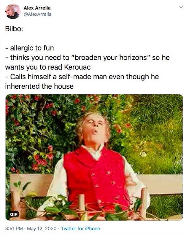 LOTR And Hobbit Tweets (28 pics)