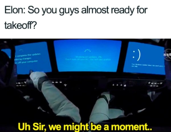 SpaceX Launch Memes (24 pics)