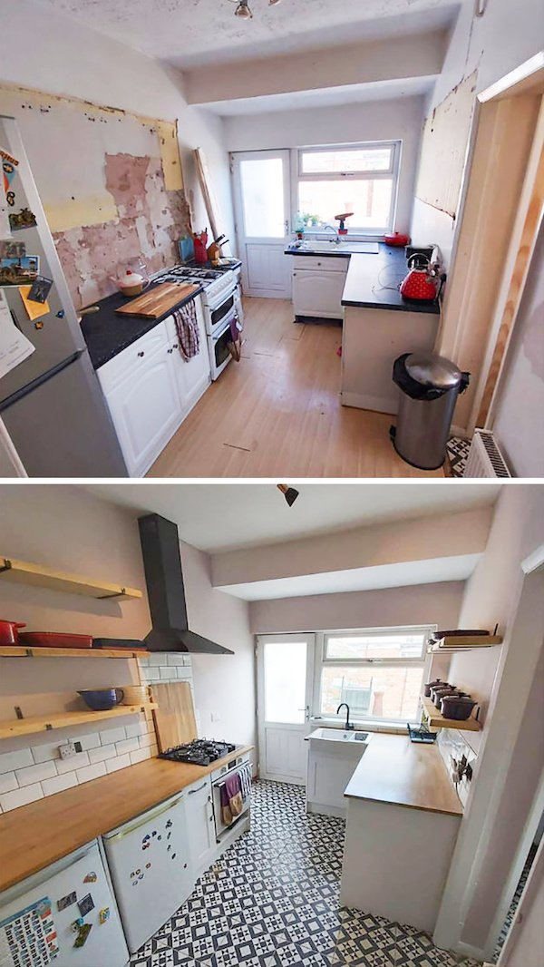 Renovation Projects: Before And After (26 pics)