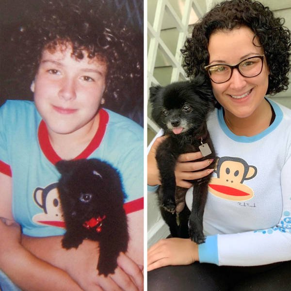 Growing Up With Pets (18 pics)